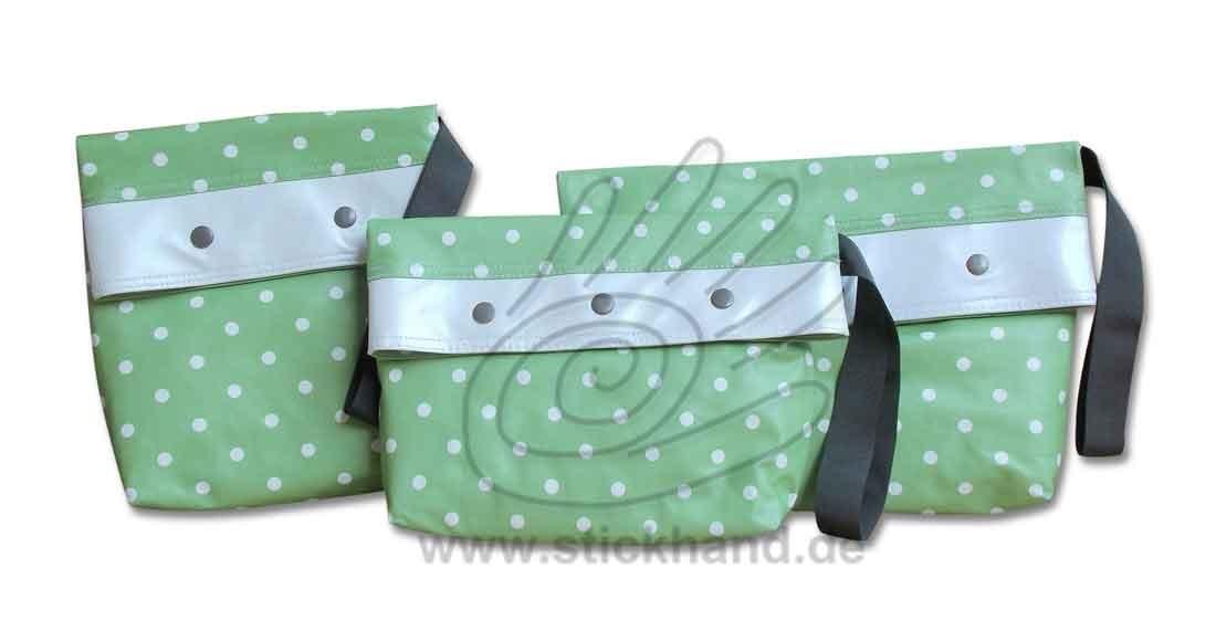 0205282 Kleine Punkte grün-weiß