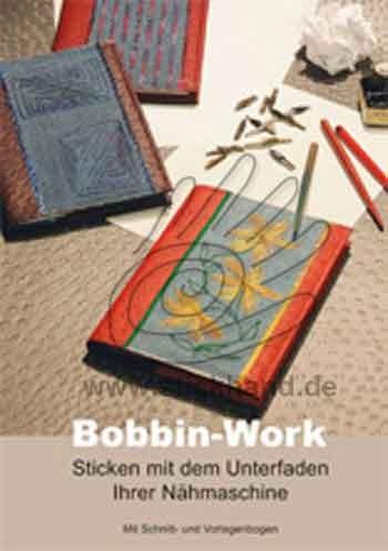 0355001 Anleitungsbuch Bobbin-Work