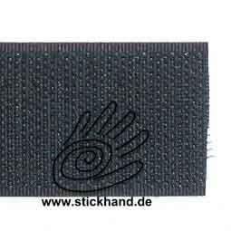 0602037_Klett-Hakenband 50 mm - schwarz