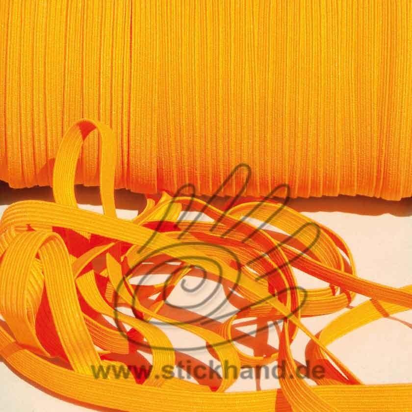 0603082 Gummiband – 7 mm breit – orange
