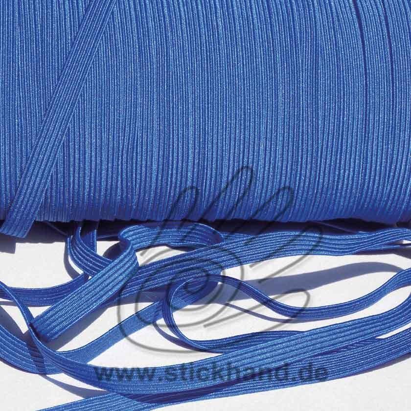 0603087 Gummiband – 7 mm breit – blau