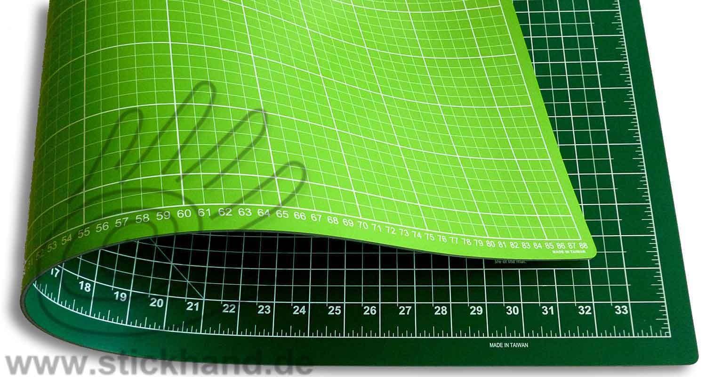 0604101 Schneidematten 90 x 60 cm grün-grassgrün