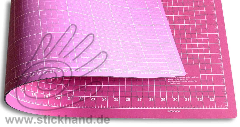 0604105 Schneidematten 90 x 60 cm pink-flieder