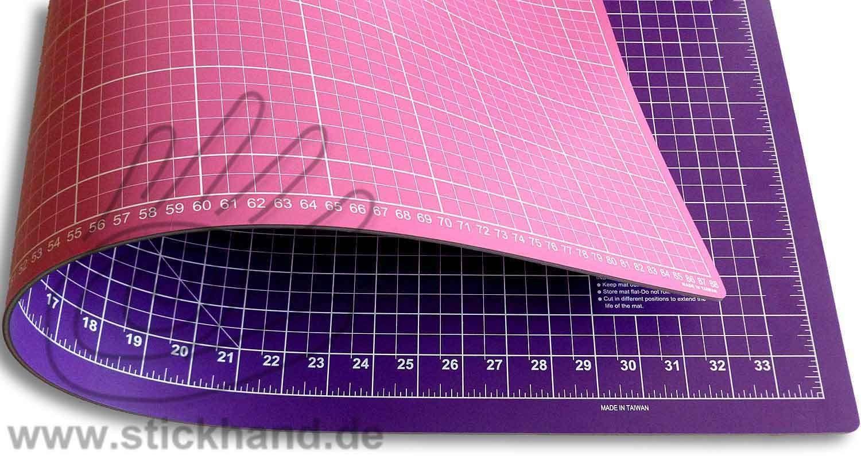 0604106 Schneidematten 90 x 60 cm pink-lila