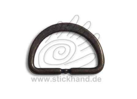 0604150_Halbrundring oder D-Ring – messingfarben