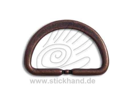 0604157_Halbrundring oder D-Ring – kupferfarben