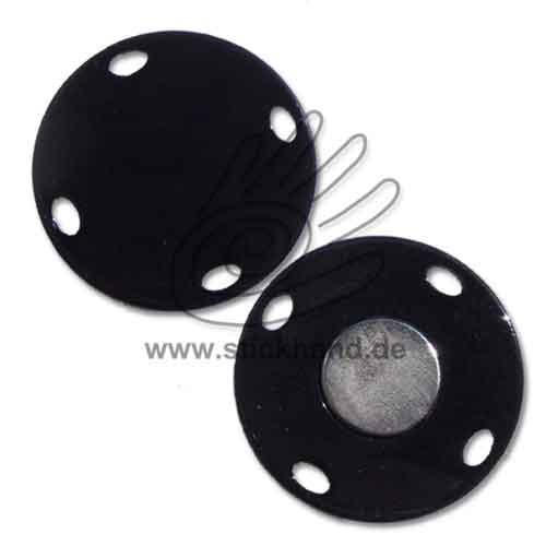 0604179_Magnetverschluss zum Aufnähen, 22 mm rund