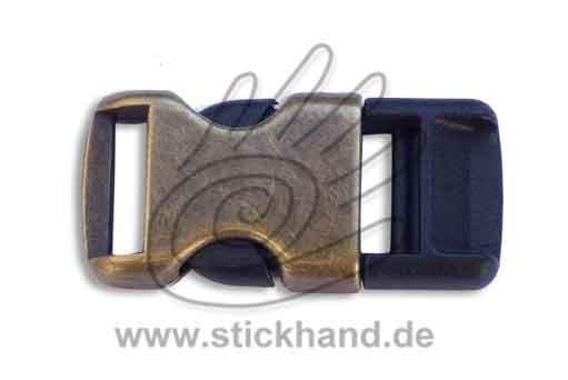 0604185_Steckverschluss, metall messingfarben 15 mm