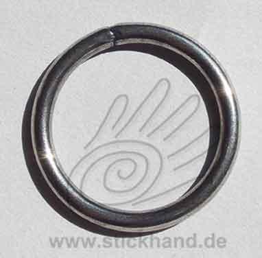 0604223 Ring 40 mm Durchmesser, altsilber