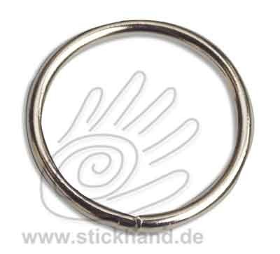 0604251 Ring 40 mm Durchmesser, silberfarben