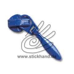 0611144 RV-Schieber, 3 mm - Tropfen - Mittelblau