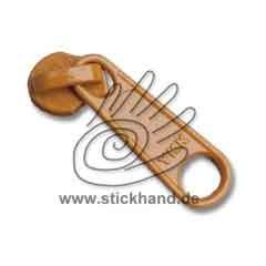0611183 RV-Schieber, 3 mm - Lange Lasche - Honiggelb