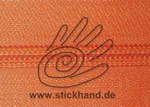 0621202 Reißverschluss, 6mm, Orange