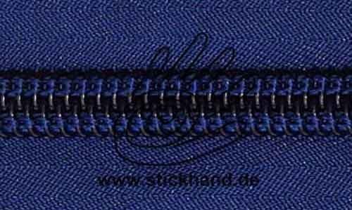 0621252 Reißverschluss, 10mm, Marineblau