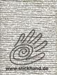 Farbnr. 4000 Madeira Metallic No.4 Handstickgarn 4-fach