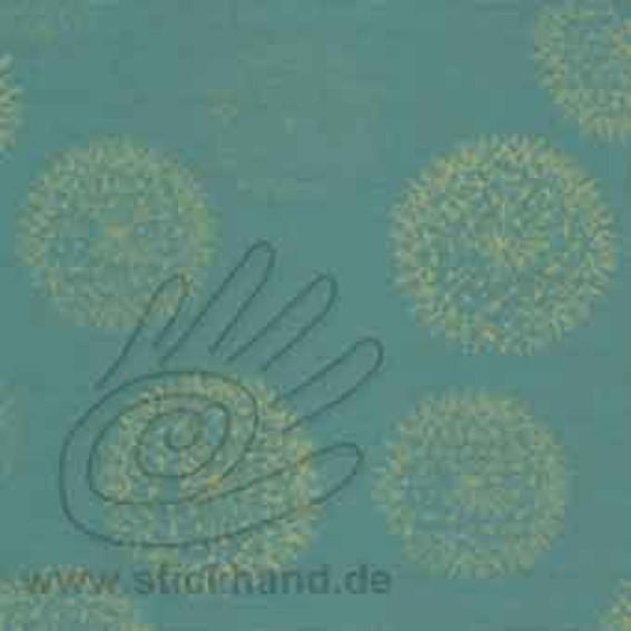 Lederimitat 50`s - Farbe 19 - Pusteblume Mint