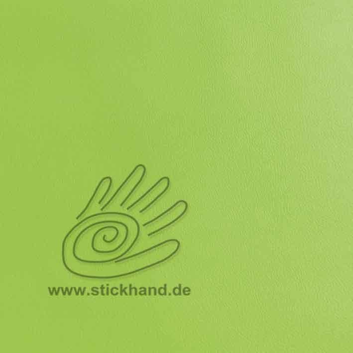 Lederimitat AT - Farbe:  limettengrün