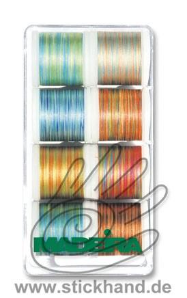 8015 Stickbox Polyneon No.40 - Multicolor-Farben