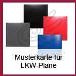 Sort 110 LKW-Plane Musterkarte