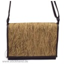 "0304123 City-bag Lederimitat/Kork ""maxi"" - Rinden-Optik"