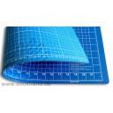 0604093 Schneidematten 60 x 45 cm blau-hellblau