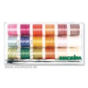 8035 Stickbox Cotona No.50 Multicolor Farben