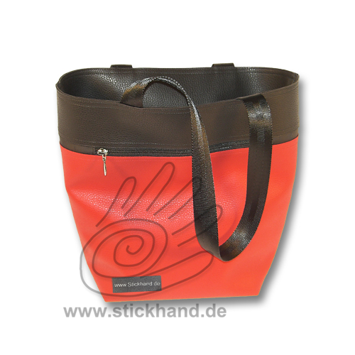 """City-Shopper L"" aus Lederimitat"