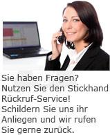 Rückruf-Service